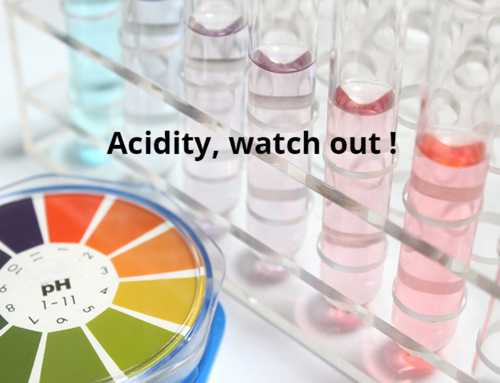 Acidity, an enemy to your health!