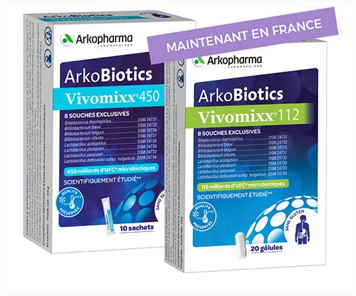 Vivomixx sachets et capsules